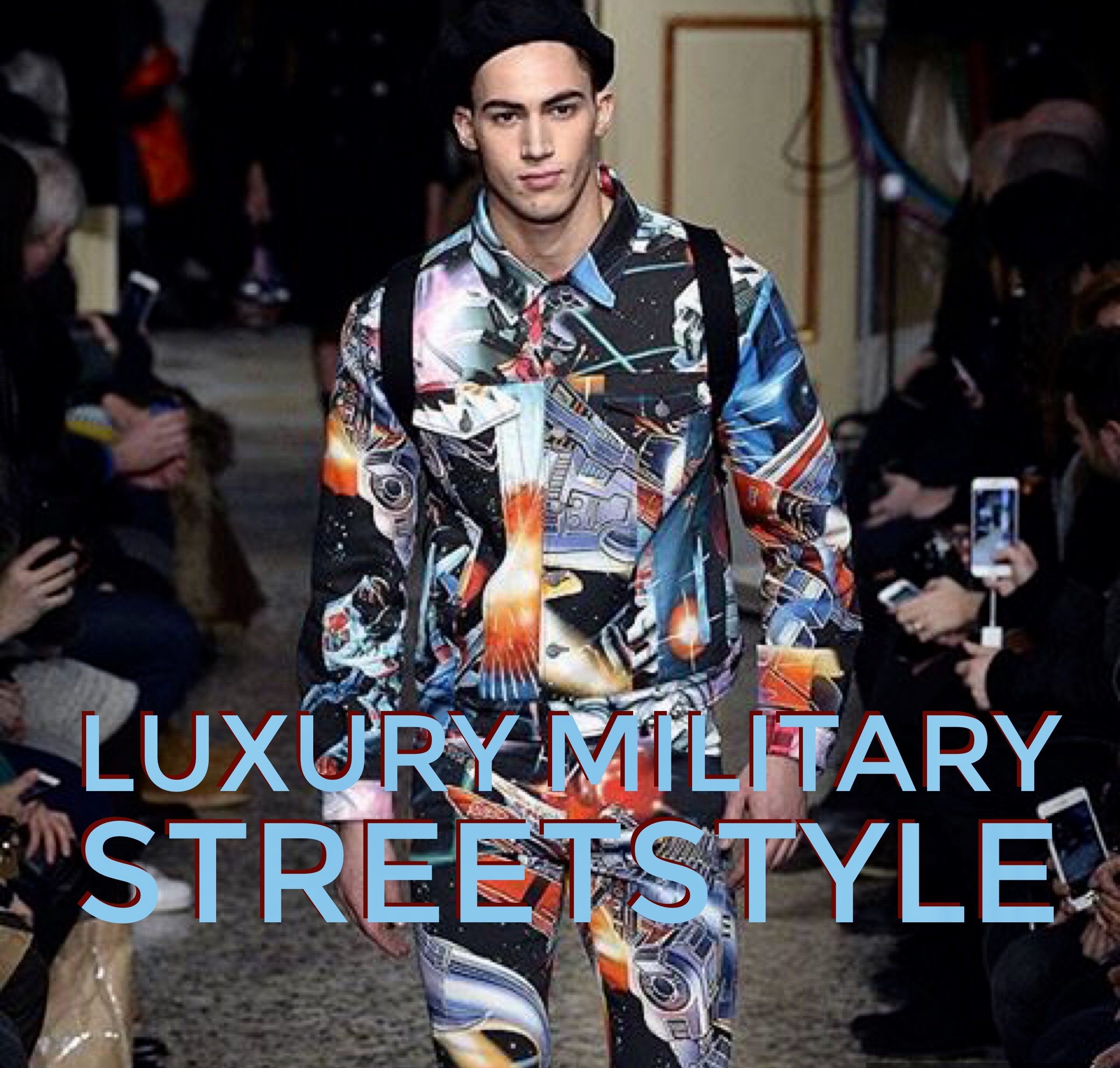 Luxury Military Streetstyle